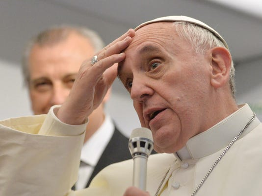 pope gay your say