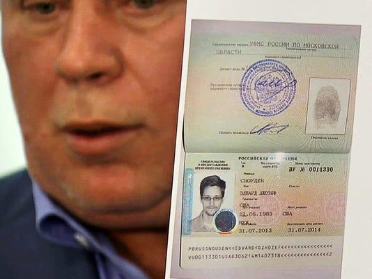 Edward Snowden asylum papers