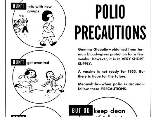 Polio precautions