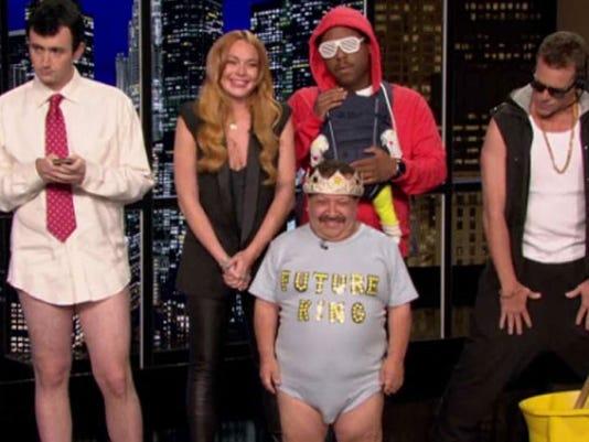 Lindsay Lohan host