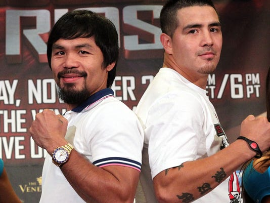 Pacquiao and Rios