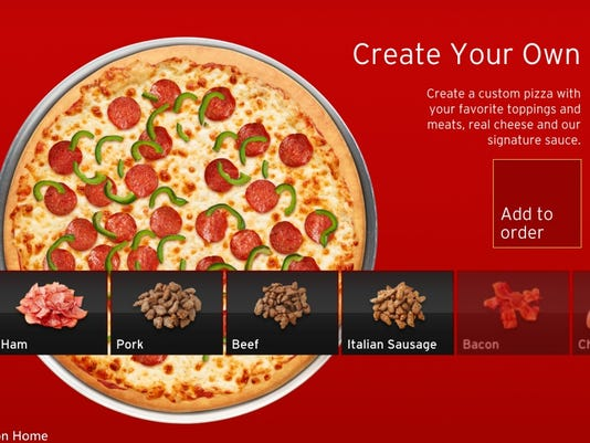 App lets you order pizza and play video games
