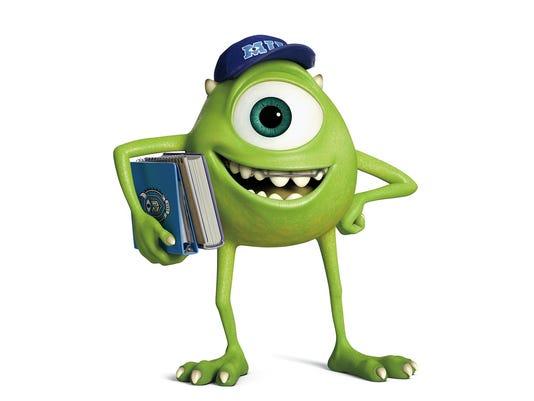 Mike Wazowski | Disney character art, Monsters inc ...  |Monster University Character Mike
