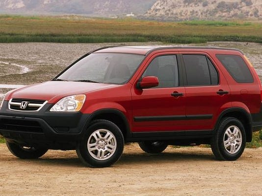 honda recalls 2002 2006 cr v for fire risk. Black Bedroom Furniture Sets. Home Design Ideas