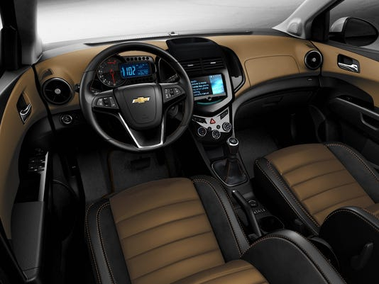 Chevrolet tries deluxe version of tiny Sonic car
