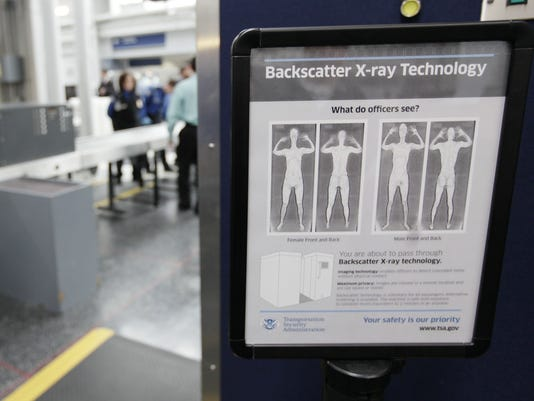 Full-body X-ray scanners getting replaced at major