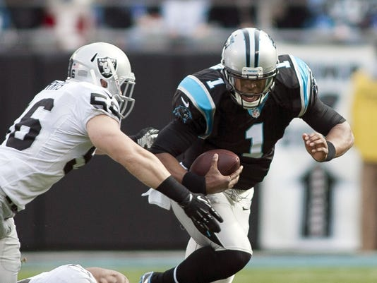 Image result for cam newton images raiders