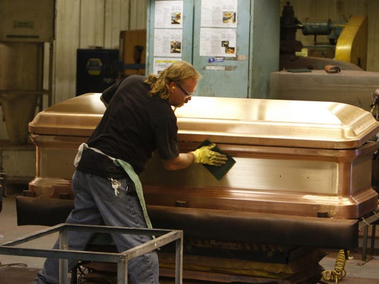 Casket Maker Evolves Into Major Manufacturer