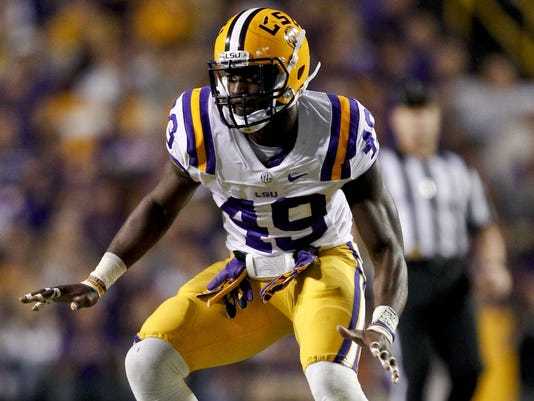 Barkevious Mingo joins LSU juniors headed to draft