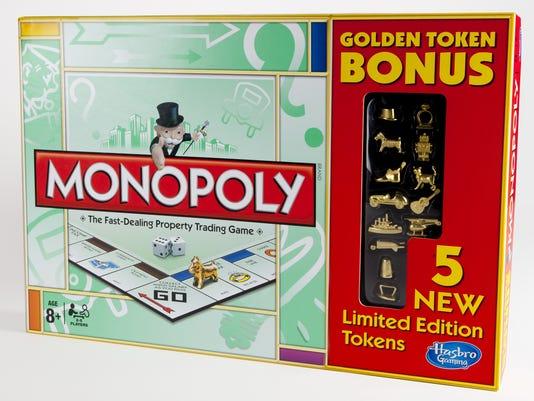 Monopoly Pieces Money Bag