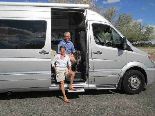 Motor home industry rolls back onto road for Mercedes benz campervan usa