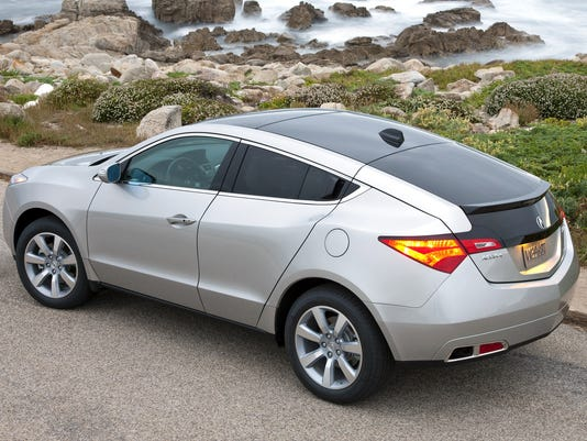 Acura Zdx Is Taking The Highway To Oblivion