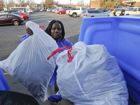 Clothes recycling goes curbside as demand rises for Shirts that donate to charity
