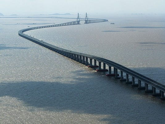 Longest Bridges To Drive Across - Longest bridge in the usa