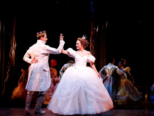 For Broadway's 'Cinderella,' a dress fit for royalty