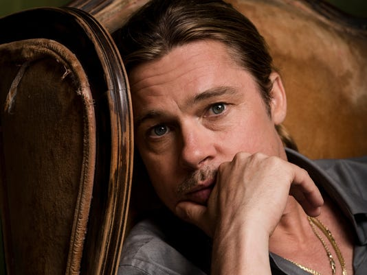 Brad Pitt stars in 'World War Z' in theaters Friday. (Photo: Larsen ...