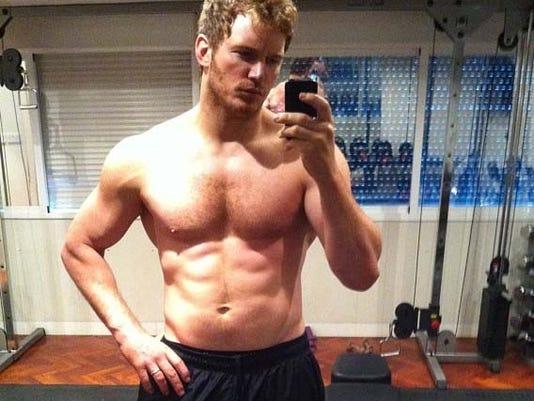 Chris Pratt gives up beer, gets super buff  Chris Pratt giv...