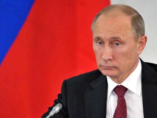 Vladimir Putin (Photo: Alexei Nikolsky AFP/Getty Images)