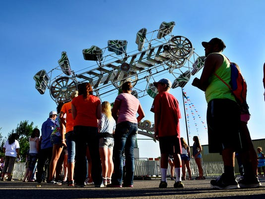 Carnival ride closed after rider falls off in Montana