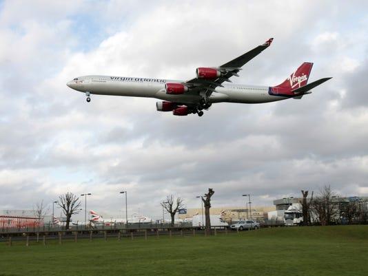 Heathrow Airport. Virgin Atlantic will compete with British Airways