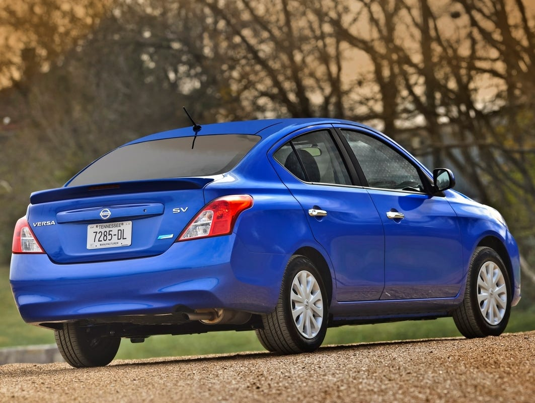 Least Expensive Cars In The U.S. Market. Versa