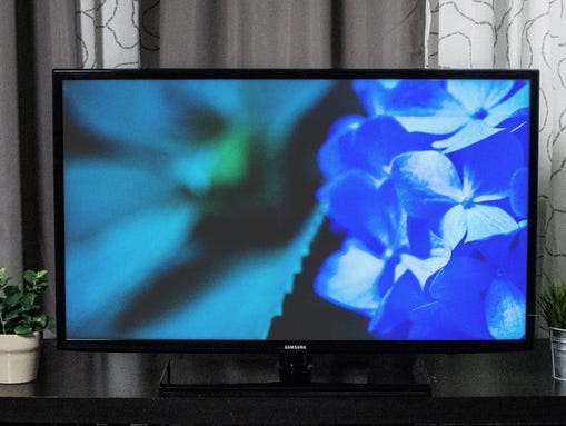 This TV from Samsung features a smart platform — which