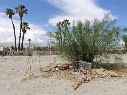 Breithaupt was found dead Saturday in a tent in a vacant lot at the southwest corner of Las Palmas Road and Monroe Street in Indio.