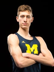 Ferlic was a depth guy at first but has blossomed at Michigan.
