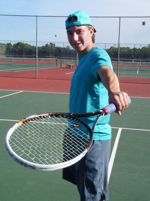 Wisconsin Rapids junior Dane Steidl was a special qualifier to the Division 1 field at the WIAA state tennis tournament. His first match is Thursday morning.