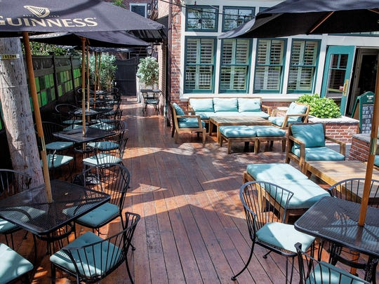 The back deck at Egan & Sons in Montclair