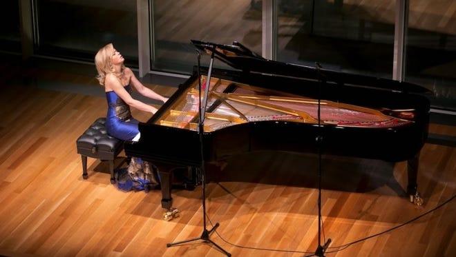 Olga Kern in concert.