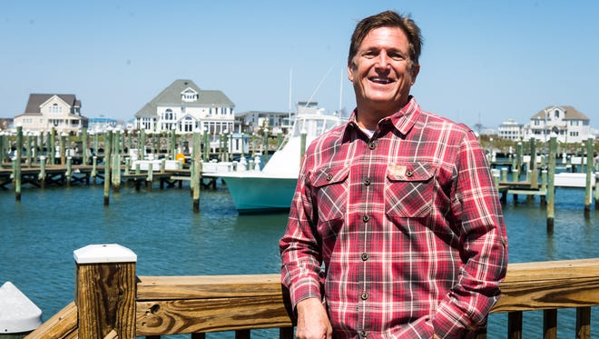 Sunset Grille owner Buddy Trala at his restaurant on Monday, April 11.