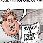 Poor Steve Bannon's on the outs with Trump