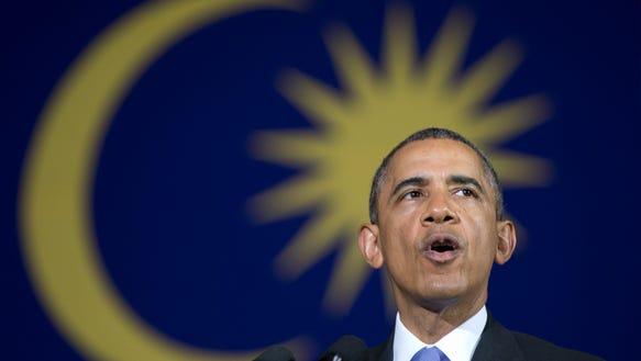 AP APTOPIX Malaysia Obama Asia_001