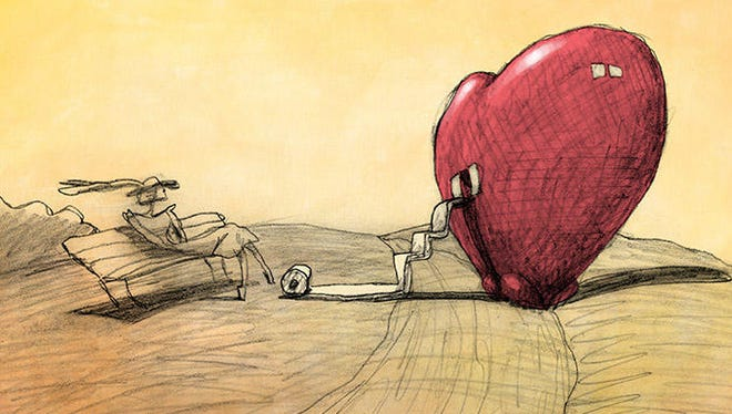 """There's no dialogue in """"Cheatin'."""" The story is told through expression, movement and Bill Plympton's surreal animation."""