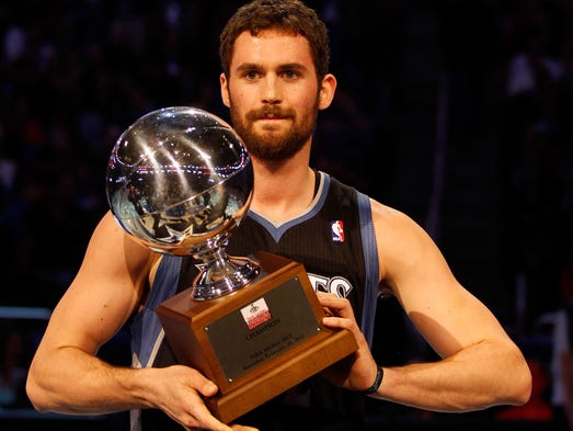 Kevin Love And Ricky Rubio