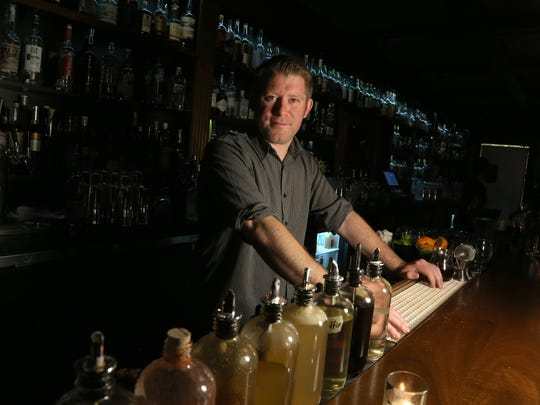 A portrait of Low Bar general manager Josef Hess in Traverse City, Michigan on May 26, 2017.For customers to get to the drinking establishment they have to take an elevator down one level to get to it.