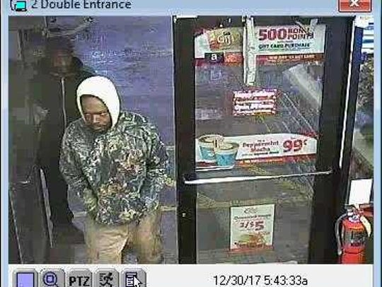 Milwaukee police are seeking these two men in the robbery of a Speedway store at 800 W. Layton Ave. Dec. 30.