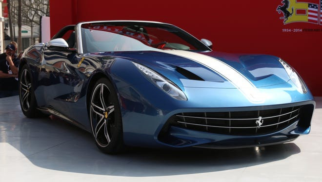 The new Ferrari F60 American unveiled last month in Beverly hills, Calif., at the brand's 60th anniversary in the U.S.observance.