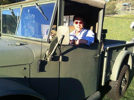 Arnold Schwarzenegger takes the wheel for Waze.