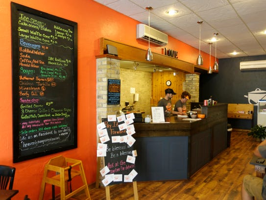 Heavenly Soups in Sheboygan Falls serves up a wide