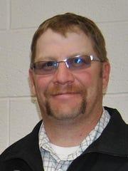 Cascade FFA adviser/ag teacher Eric Tilleman