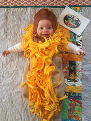 Kyle and Anna Honerlaw dressed up their 7-month-old son, Luke, as a Skyline Chili coney for Halloween.
