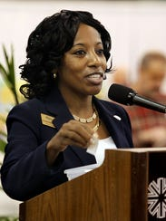Kimberly Moore, vice president for Workforce Development