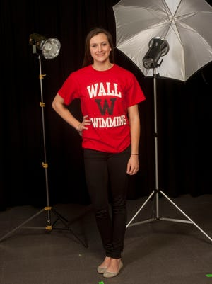 All-Shore Girls Swimmer of the Year Danielle Griggs of Wall.