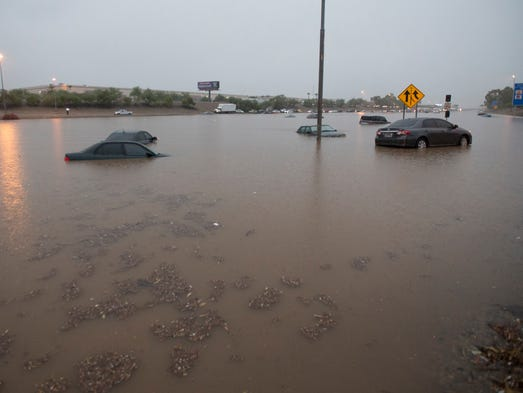 Scottsdale Roads Slowly Reopening After Deluge