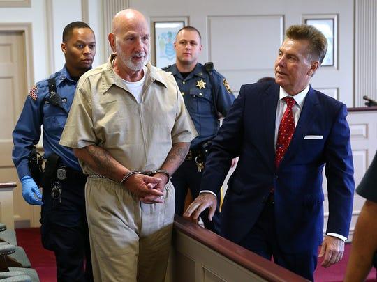 James Koedatich walks into Morris County Superior Court