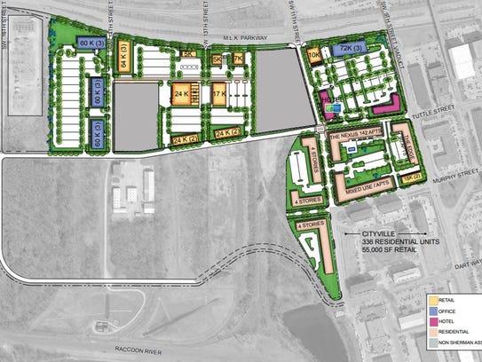 Minneapolis-based Sherman Associates is developing