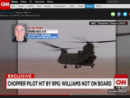 A screenshot of CNN.com showing the episode of 'Reliable