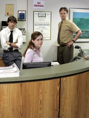 NBC's 'The Office' had no shortage of scripted drama, but it's a real-life issue in many workplaces.
